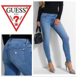 Power-Stretch Skinny Ankle Jeans